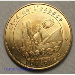 Jeton Médaille touristique, Cité de l'espace Toulouse 2001, lartdesgents.fr
