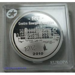 France 10 € Argent Centre Pompidou BE 2010 Pp Proof, lartdesgents.fr
