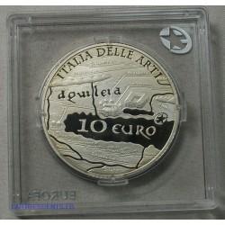 ITALIE 10 € Argent AQUILEE BE 2010 Pp Proof, lartdesgents.fr