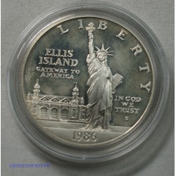 USA - Liberty $ 1 dollar 1986 S Pp PROOF , lartdesgents.fr