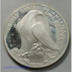 USA - Liberty $ 1 dollar 1984 S Los Angeles XXIII Olympiades , lartdesgents.fr