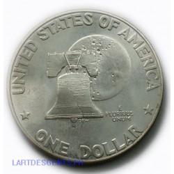 USA - Liberty $ 1 dollar 1776-1976 S Eisenhower, lartdesgents.fr