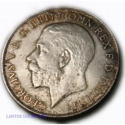 Grande Bretagne - one Florin (2 shillings) 1923 Georgivs V