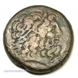Octochalque  de Ptolémée IV Philopator 225-205 avant JC