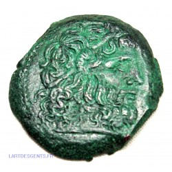 Chalque de Ptolémée Vi 180-176 avant JC TËTE DE ZEUS, lartdesgents.fr