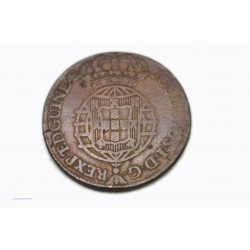 ANGOLA (colonie Portugaise) 1/2 Macuta 1770, lartdesgents.fr