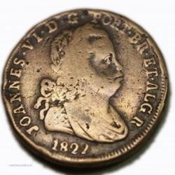 Portugal - 40 REIS 1822 Joannes VI, lartdegents.fr