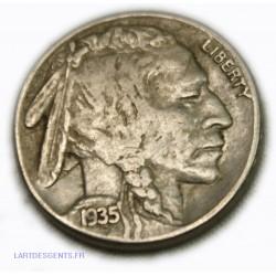 USA - Five cents 1935 S - Buffalo, lartdesgents.fr Avignon