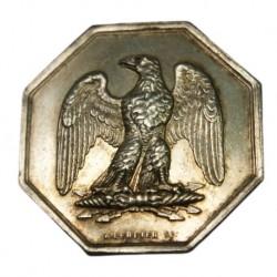 Jeton de la Compagnie de l'Aigle 18 mai 1843 par A. GERBIER SC, lartdesgents.fr