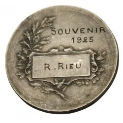 Médaille Souvenir en 1925 Science, lartdesgents.fr