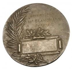 Médaille ARGENT de TIR offert par Mr BLANCHARD DEPUTE par J.BORY, lartdesgents.fr