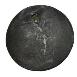 Médaille uniface hébreu Israel portrait