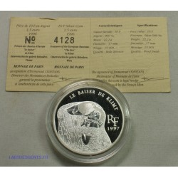 Trésors des Musées d'Europe - 10 Francs 1997 BE LE BAISER DE KLMIT