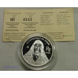 Trésors des Musées d'Europe - 10 Francs 1997 BE Autoportrait de DÜRER