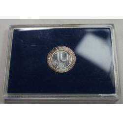 Coffret BU 10 Francs 1987 MILLENAIRE CAPETIEN, lartdesgents.fr