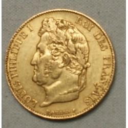 Louis Philippe Ier, 20 Francs 1848 A PARIS SUPERBE, lartdesgents.fr