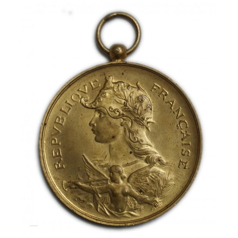 Médaile Bronze doré - Tir de France Algérie et colonies superbe