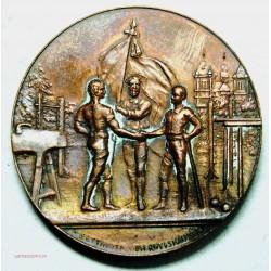 Médaille SUISSE Fête fédérale de gymnastique Genève 1891 par BETTINGER