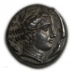 Tetradrachme Sicile sous Carthage 350-330 av. J.C. - Jenkins 56,42,101 Rare