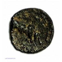 GAULOISE - Petit bronze au taureau de Marseille tête à droite