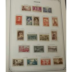 lot Années complètes de 1939 à 1966 Neuf* dans Album YT cote 1926€