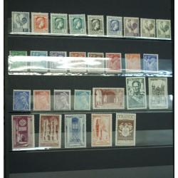 lot Années complètes de 1944 à 1959 Neuf** cote 2042€