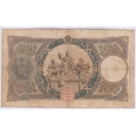Italie 500 lire 1926