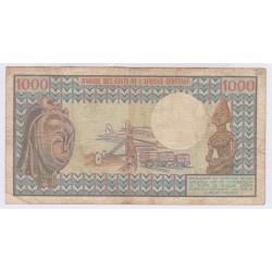 1000 francs Cameroun 1980