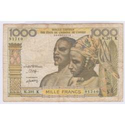 billet SENEGAL1000 francs