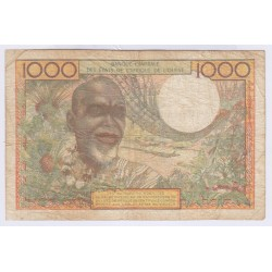 billet SENEGAL1000 francs 1