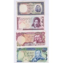 LOT 7 BILLETS IRAN L'ART DES GENTS AVIGNON