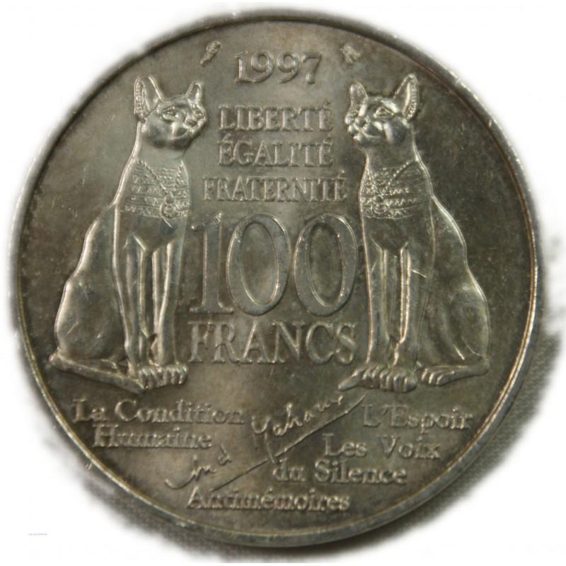 100 Francs 1997 André Malraux  AVIGNON NUMISMATIQUE LARTDESGENTS.FR