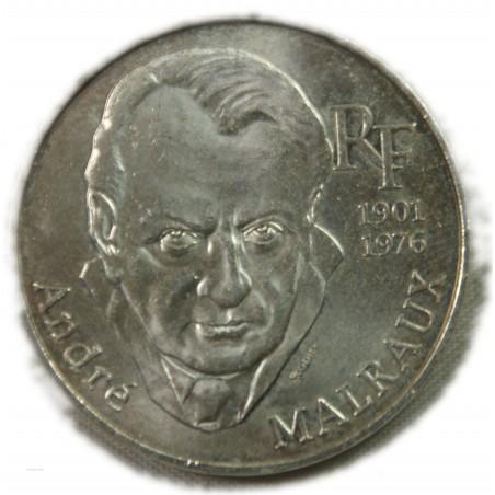 100 Francs 1997 André Malraux  LARTDESGENTS.FR AVIGNON