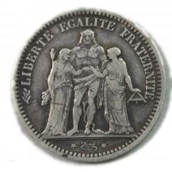 II° République HERCULE, 5 Francs 1848 BB, lartdesgents.fr