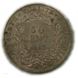 CERES - 50 centimes 1895 A, lartdesgents.fr