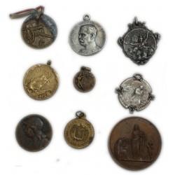 Lot de 9 Médailles à voir... (7) lartdesgents Avignon