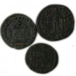 ROMAINE -Lot  de Folles à identifier (4)