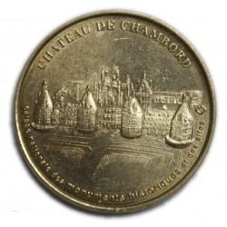Jeton Médaille touristique (41), Château de CHAMBORD 1998, lartdesgents.fr