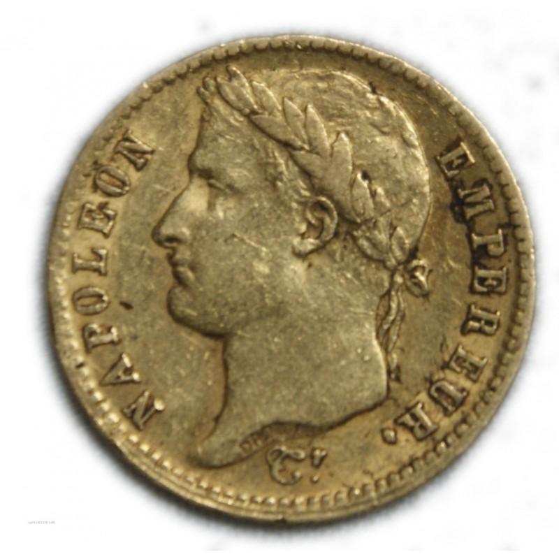 Napoléon Ier Empereur 20 francs or 1812 A Paris, lartdesgents