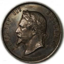 Médaille Argent Napoléon III Agriculture DROME par DESAIDE ROQUELAY