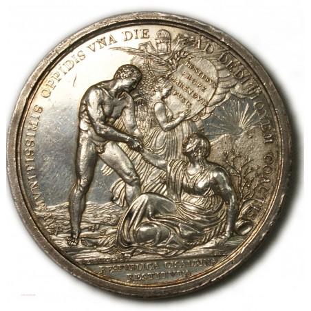 Médaille Argent BONAPARTE An VIII (1800) Milan