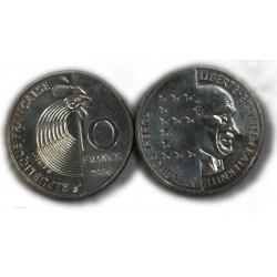 2 x 10 Francs argent SCHUMANN 1986, lartdesgents.fr