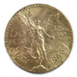 Mexique - 50 Pesos or/gold 1821/1946, lartdesgents.fr