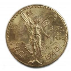Mexique - 50 Pesos or/gold 1821/1943, lartdesgents.fr