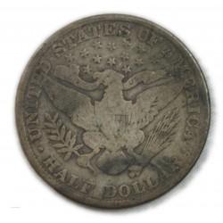 USA - Liberty   Half Dollar BARBER 1909, lartdesgents.fr