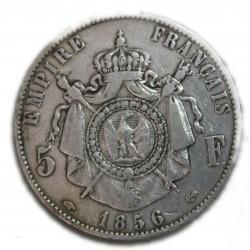 Napoléon III 5 FRANCS 1856 A Paris, lartdesgents.fr
