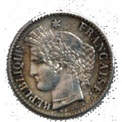 FRANCE - 20 Centimes 1850 A (oreille haute) Superbe cote 75€
