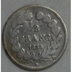 FRANCE Louis Philippe Ier 1/2 Franc 1835 A Paris (2), lartdesgents.fr