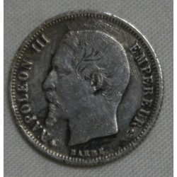 FRANCE Napoléon III, 50 centimes 1859 BB , lartdesgents.fr