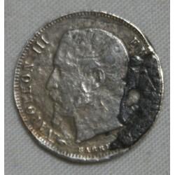 FRANCE Napoléon III, 50 centimes 1856 A, lartdesgents.fr